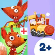 小狐狸幼儿系列捆绑包– 送给孩子的火车探险、动物医生和音乐盒