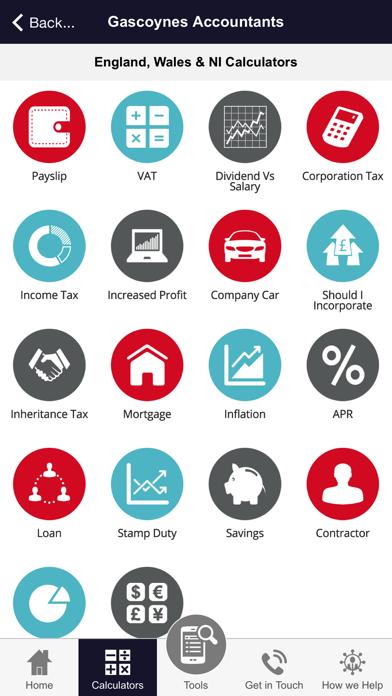 Gascoynes Accountants screenshot three
