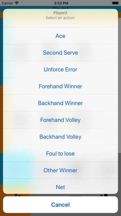 Tennis Score Memo screenshot-3