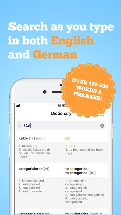 German-English Dictionary Pro