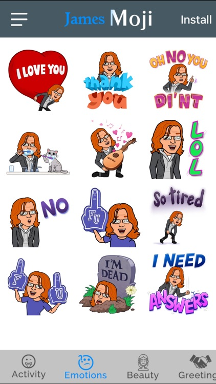 JamesMoji - Emoji Keyboard
