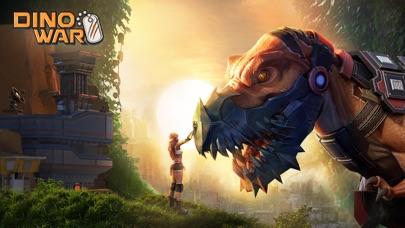 Screenshot 1 Dino War: Survival