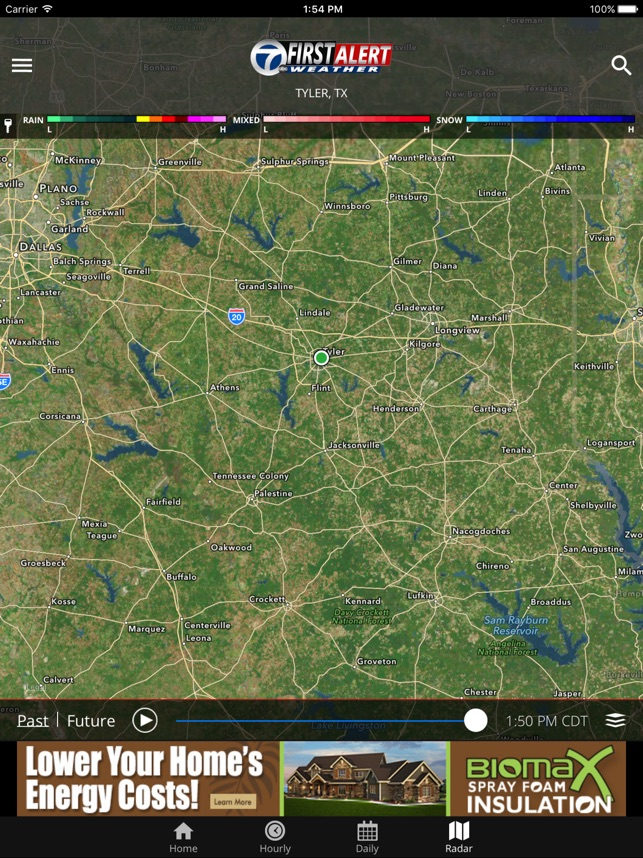 KLTV First Alert Weather on the