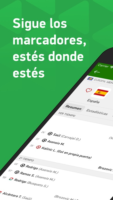 Screenshot for Mis Marcadores in Chile App Store