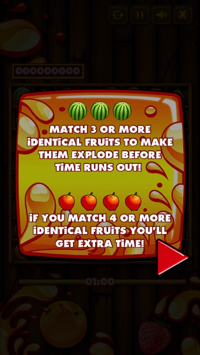 Fruit Match - You can play without the Internet screenshot two