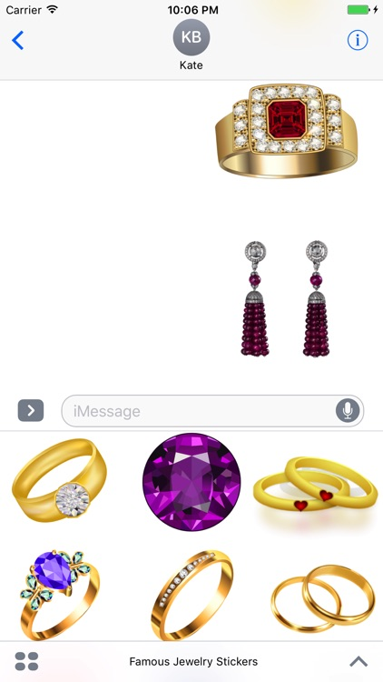 Famous Jewelry Stickers screenshot-4