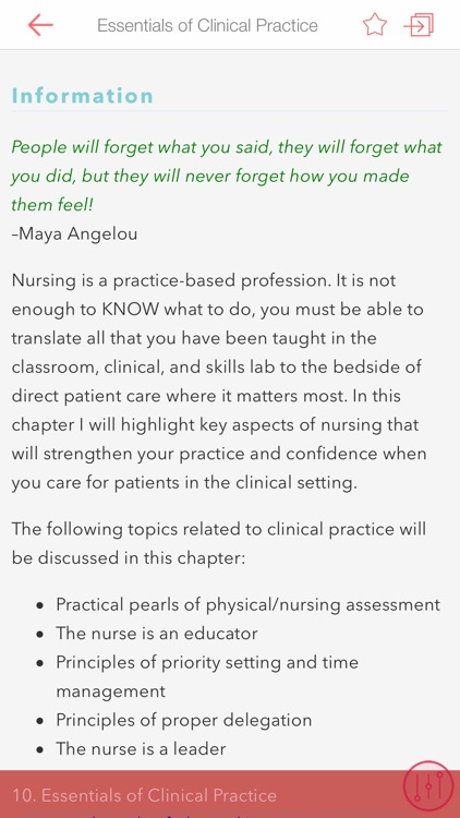 Think Like a Nurse: Prepare
