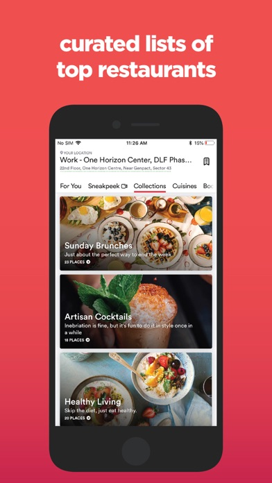 Zomato - Food & Restaurants Preview 3