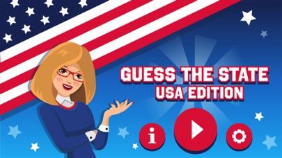 Guess the USA State screenshot 1