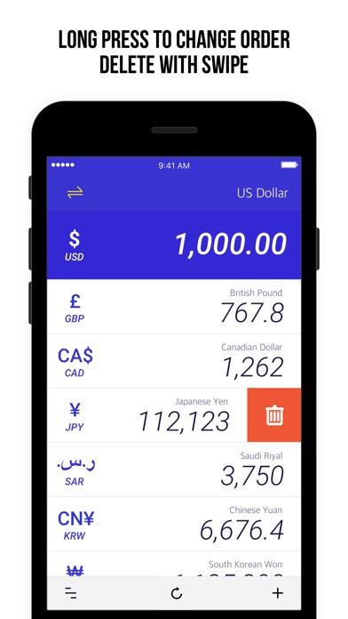 貨幣匯率 - 計算200+國家屏幕截圖4