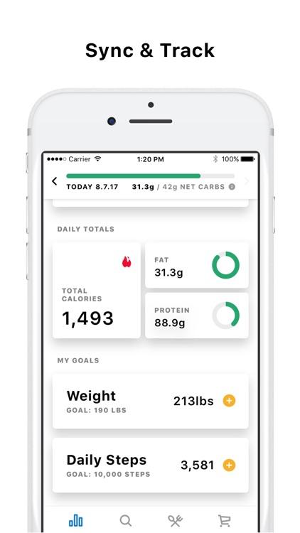 Atkins® Carb & Meal Tracker screenshot-4