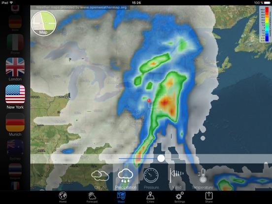 Прогноз погоды - Weather Now° Скриншоты10
