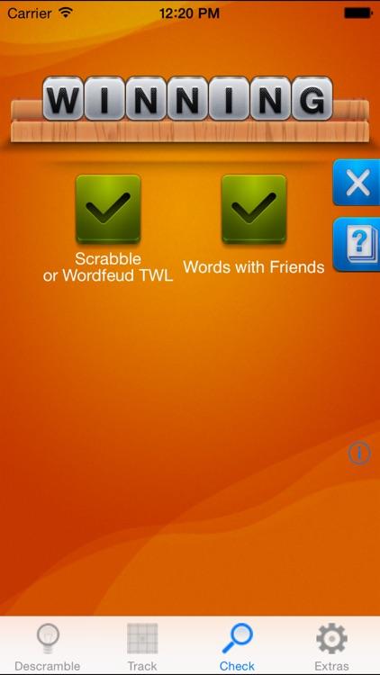 Descrambler - Word game cheat screenshot-4