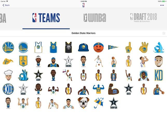 NBAmoji on the App Store