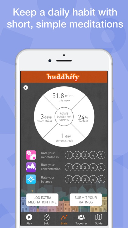buddhify - modern mindfulness for busy lives screenshot-4