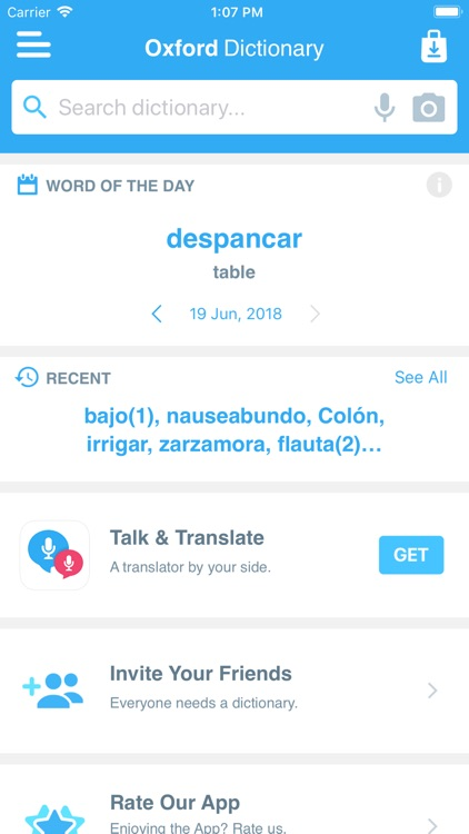 Conc. Oxford Spanish Dict. screenshot-4
