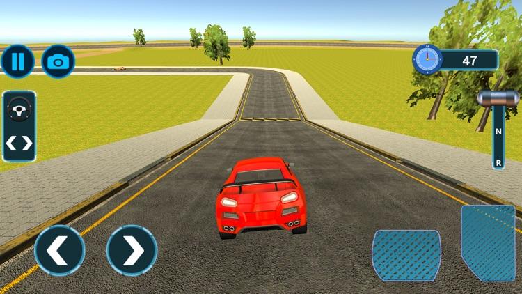 Modern Muscle Car Driving screenshot-3