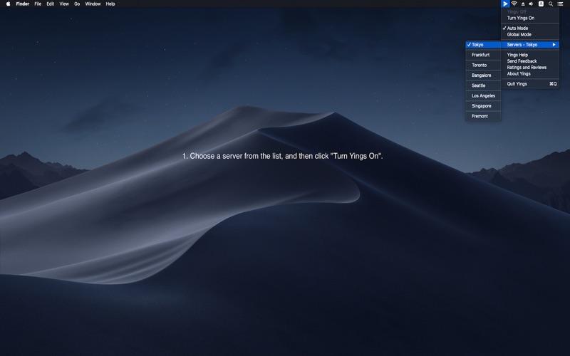 Yings VPN - Fast Proxy Utility скриншот программы 1