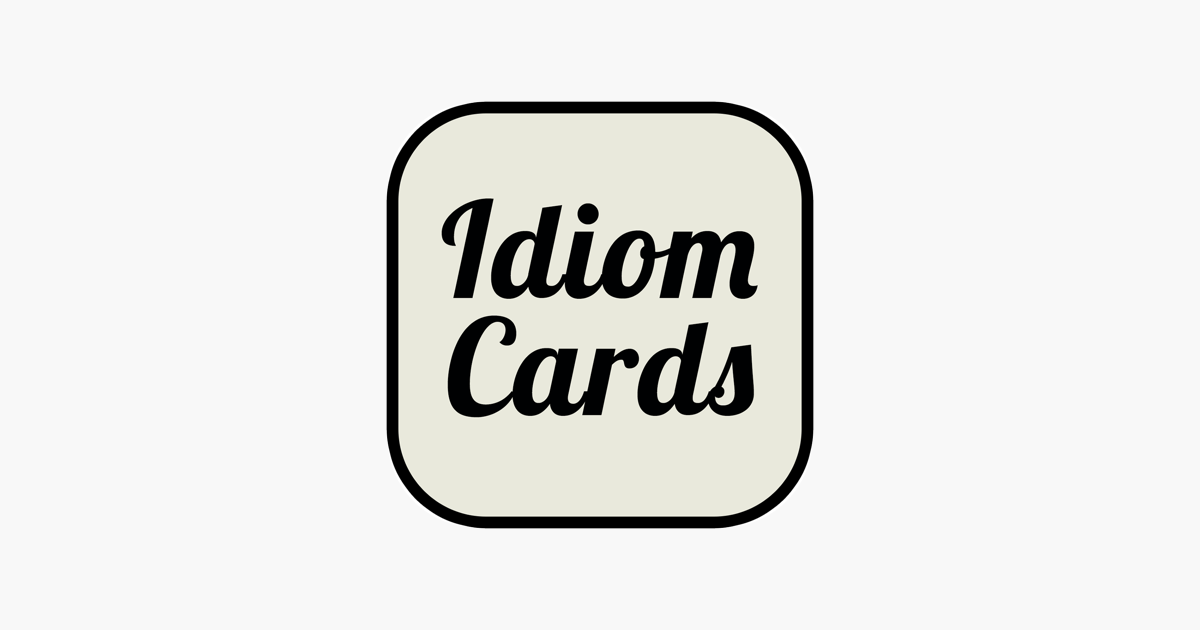 English Idioms Cards on the App Store