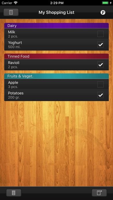 shoplist grocery list   app store revenue amp download