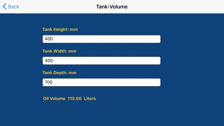 Hydraulic Megastore Calculator screenshot-5