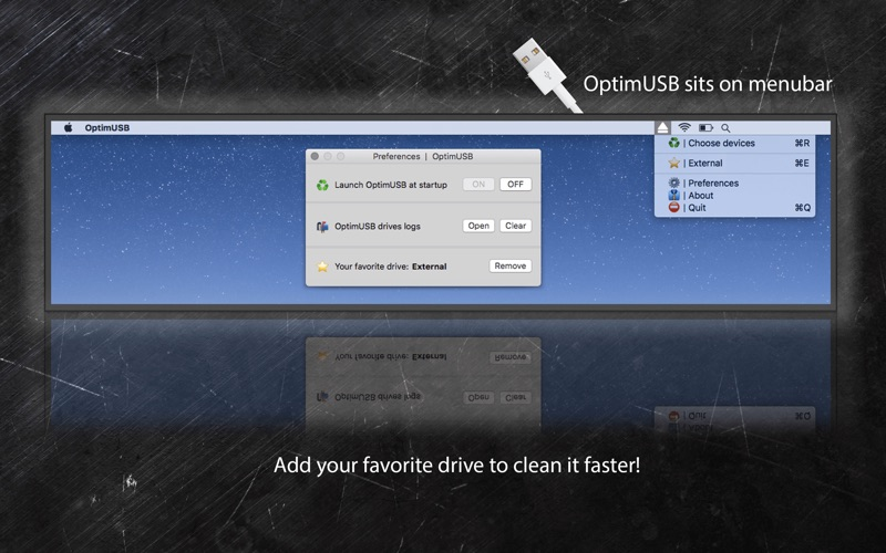 OptimUSB Screenshot