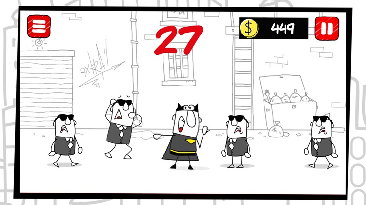 Doodle Super Hero screenshot-3