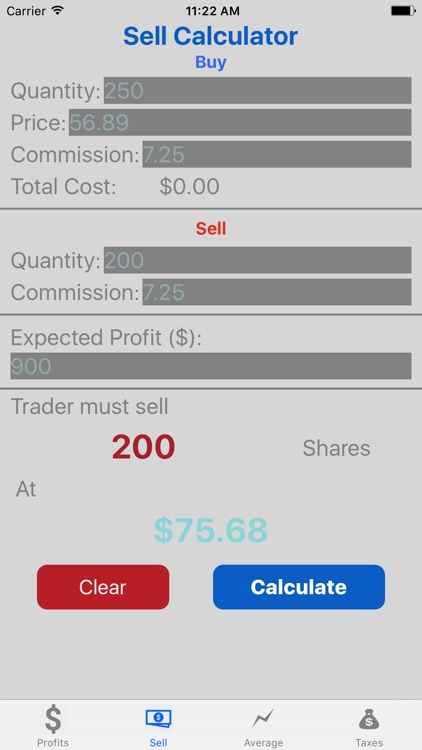 Stock Target Calculator Pro screenshot-2