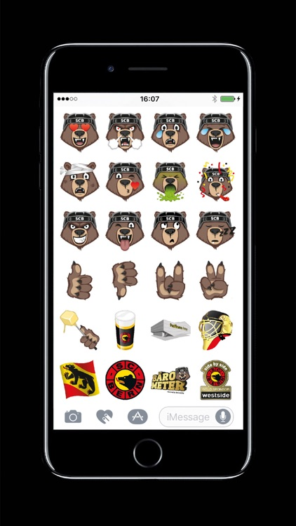 Bärmoji-Sticker - SC Bern screenshot-1