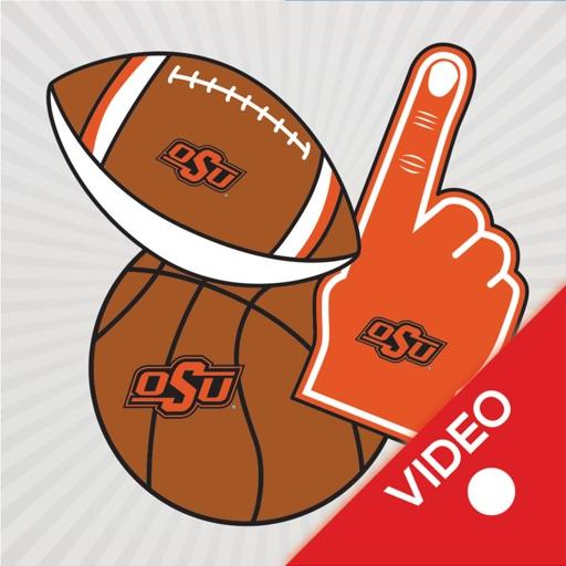 Oklahoma State Cowboys Animated Selfie Stickers