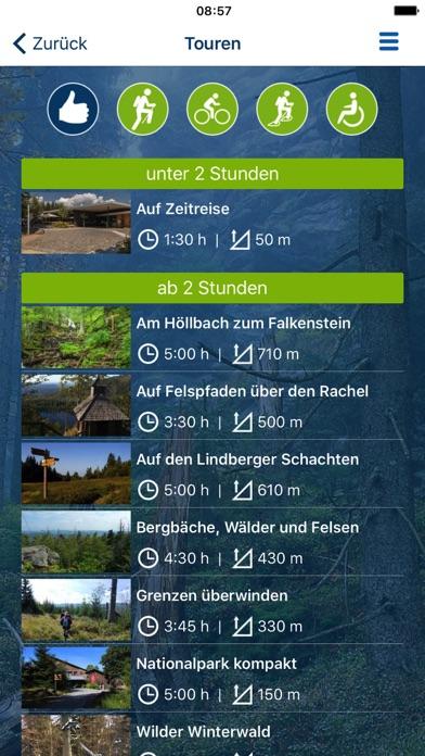 Nationalpark Bayerischer Wald iPhone