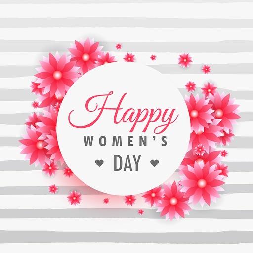 Women's Day Frames Collage App