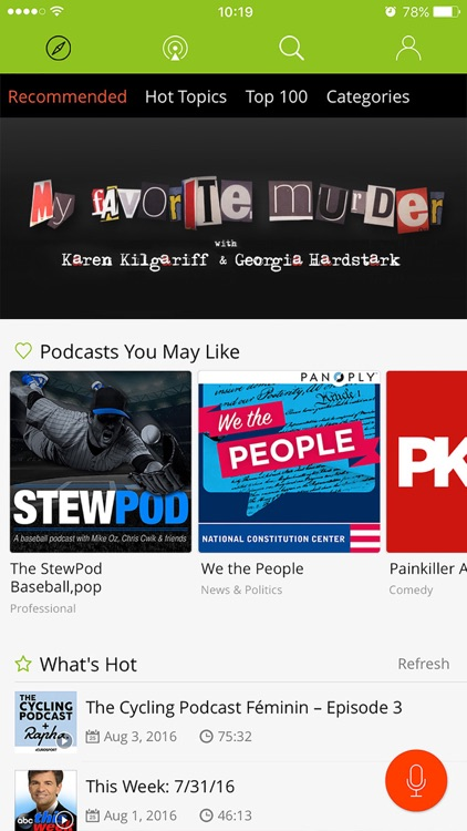 Podbean Podcast App & Player screenshot-0