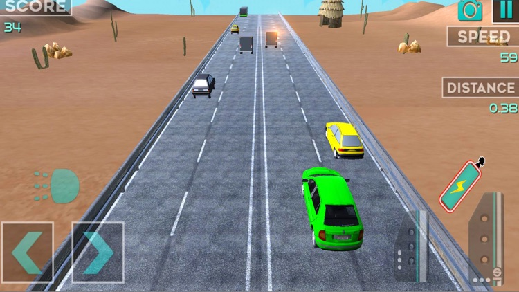 Highway Car Traffic Racer 3D