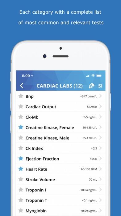 Lab Values Medical Re... screenshot1