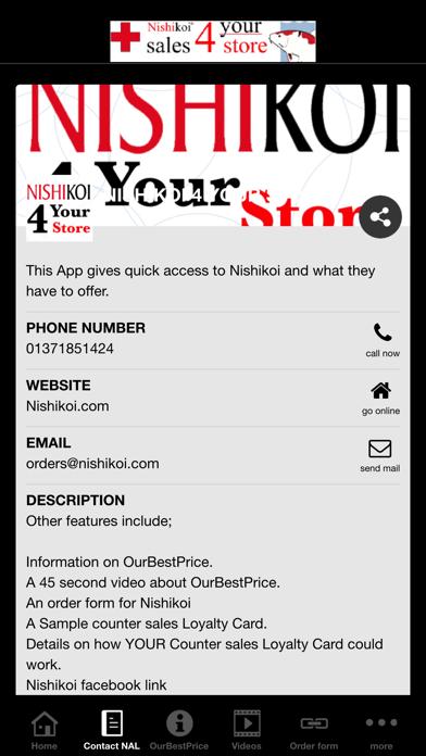 Nishikoi 4 your store Screenshot on iOS