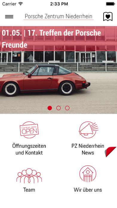 Porsche Zentrum Niederrhein screenshot one