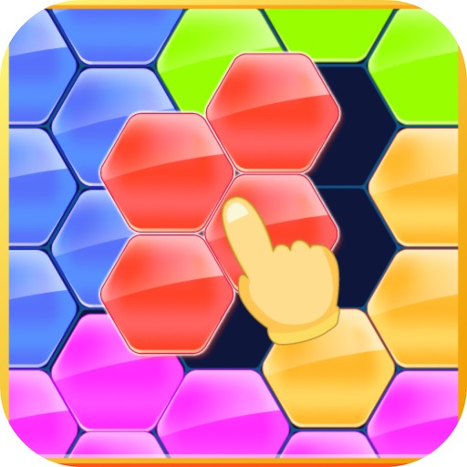 Funny Hexa Box Color icon