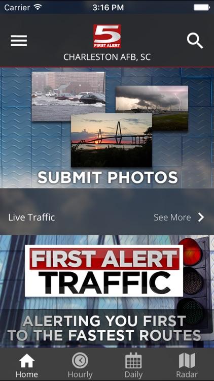 WCSC Live 5 Weather screenshot-4