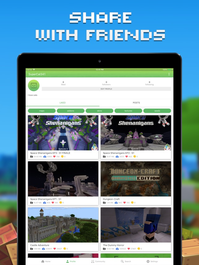 master for minecraft launcher ios