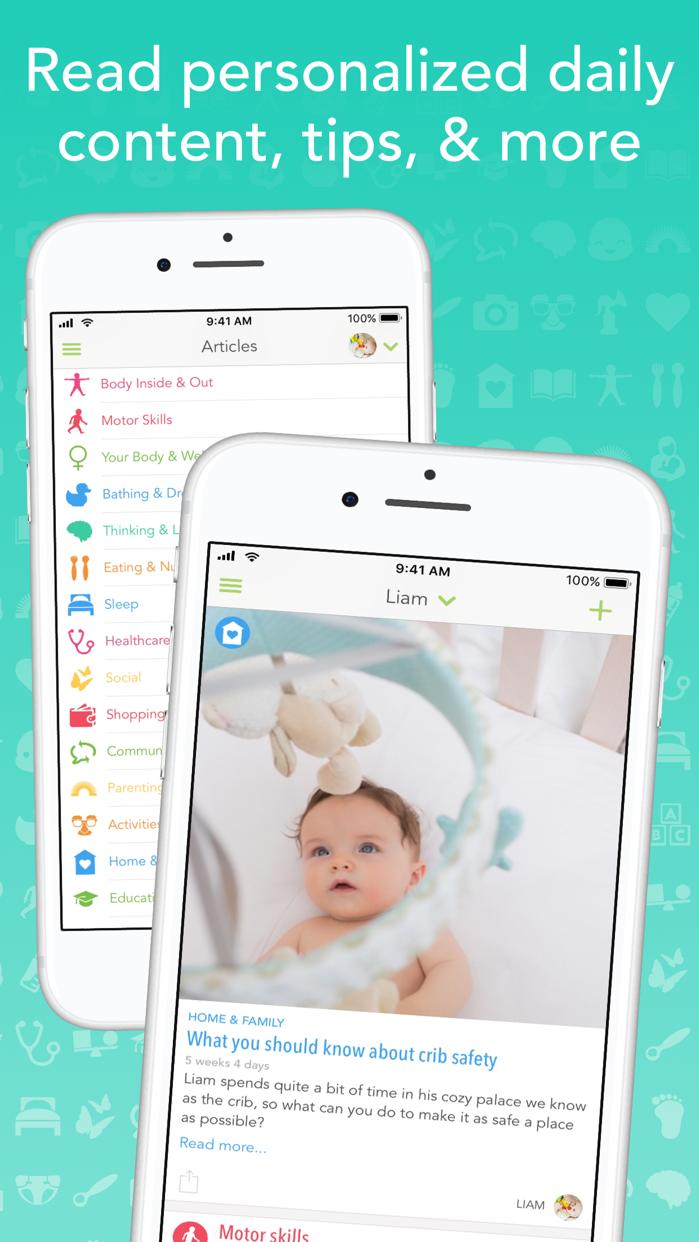 Ovia Parenting - Baby Tracker Screenshot
