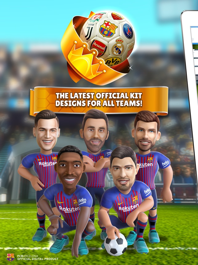 7f07bdc76d9  Kings of Soccer 2019 on the App Store
