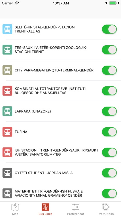 Tirana Public Transport screenshot-6