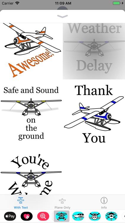 DHC-2 Beaver Sticker App screenshot-3