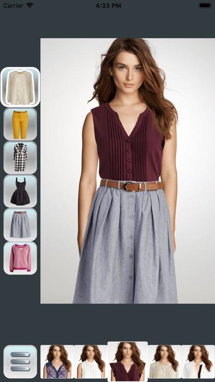 Real Model Dress Up screenshot-9