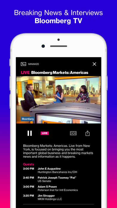 Bloomberg Media / Businessweek Advertising Mediakits, Reviews
