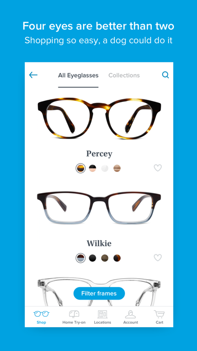 Glasses by Warby Parker Screenshot