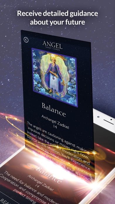 Angel Tarot Cards screenshot 4