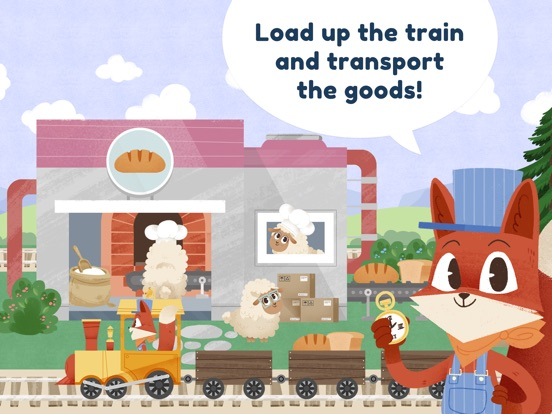 Little Fox Train Adventures Screenshots