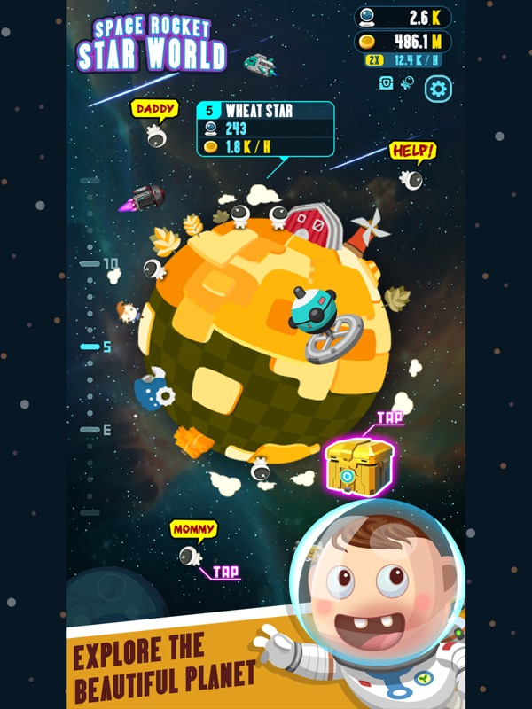 Space Rocket - Star World Online Hack Tool